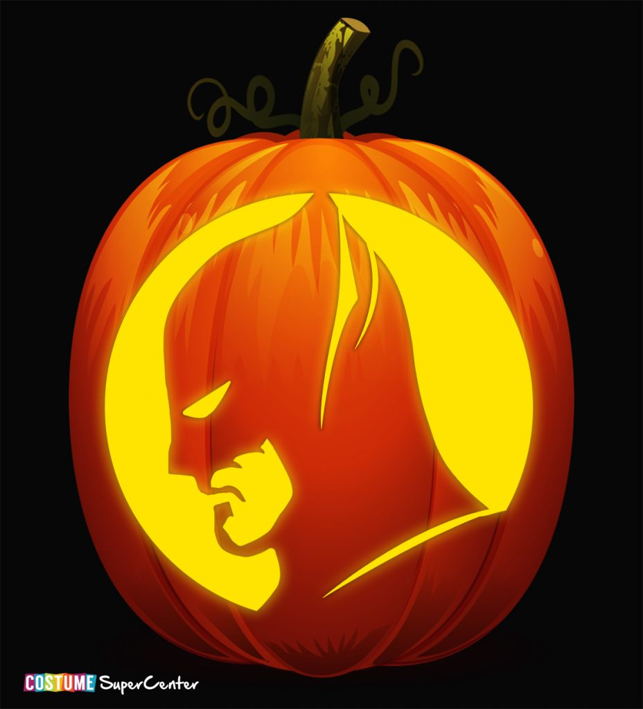 Free Justice League Pumpkin Stencils | Costume Supercenter Blog - Superhero Pumpkin Stencils Free Printable
