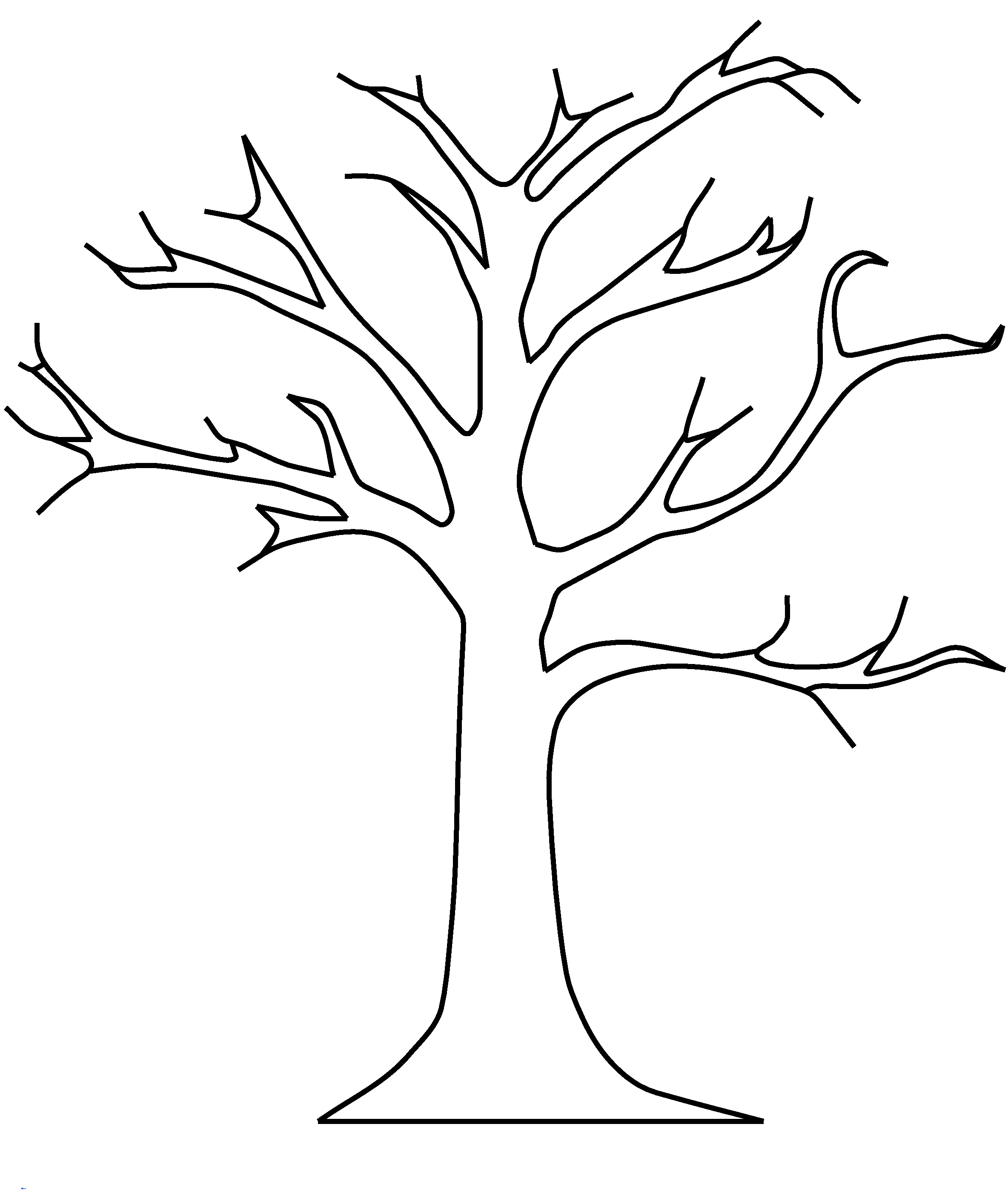 Free Leafless Tree Outline Printable, Download Free Clip Art, Free - Free Printable Tree Template