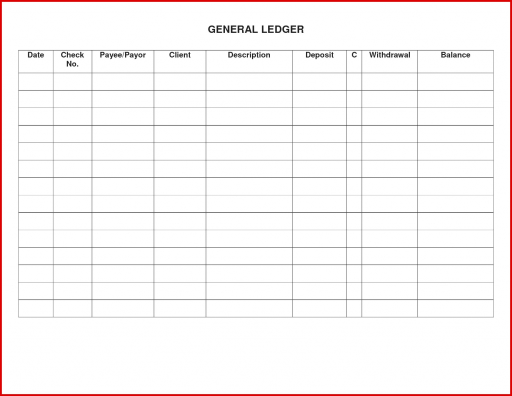 Free Ledger Template | 4Gwifi With Regard To Free Printable Rent - Free Printable Rent Ledger