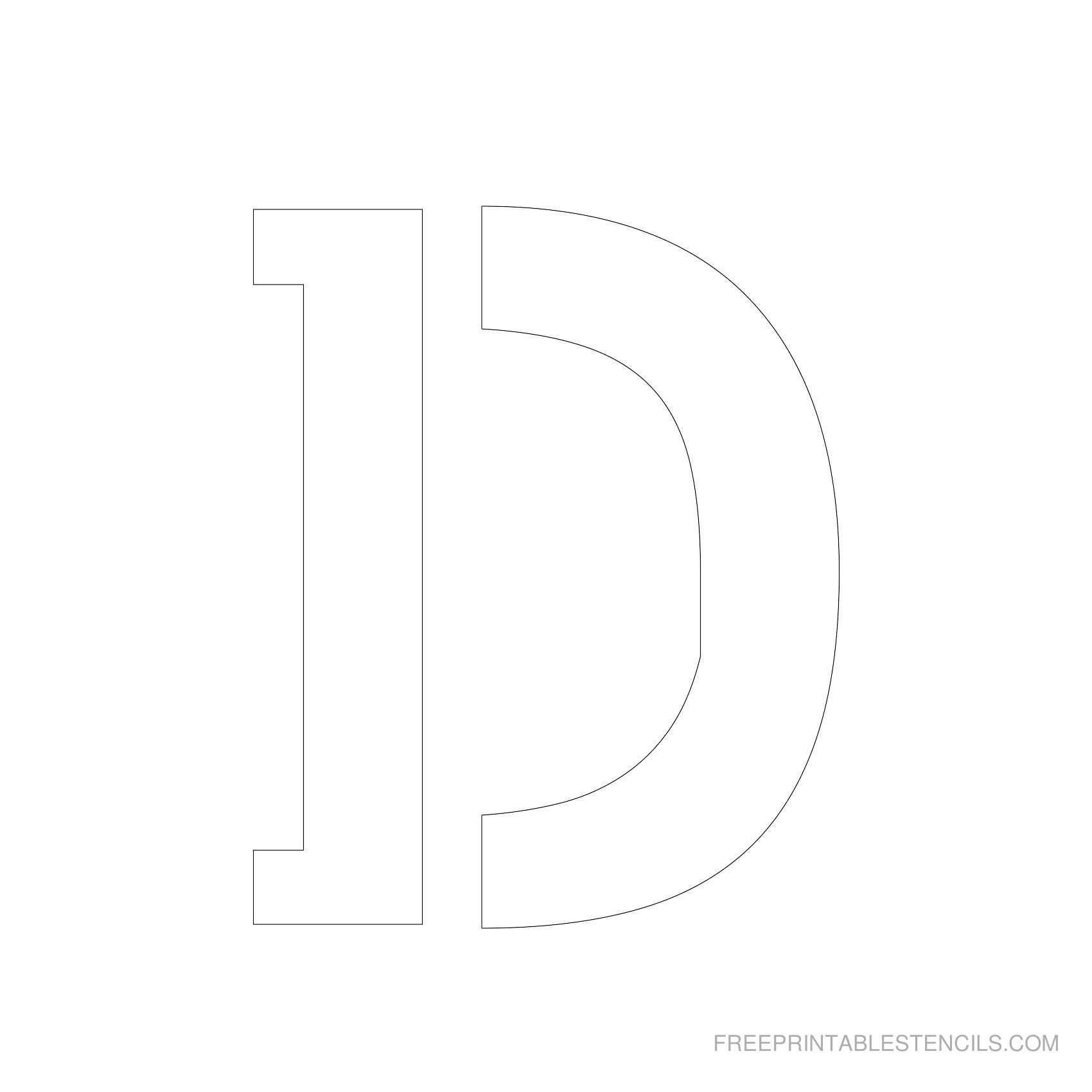 Free Letter Stencils To Cut Out Valid Free Printable Letter Stencils - Online Letter Stencils Free Printable