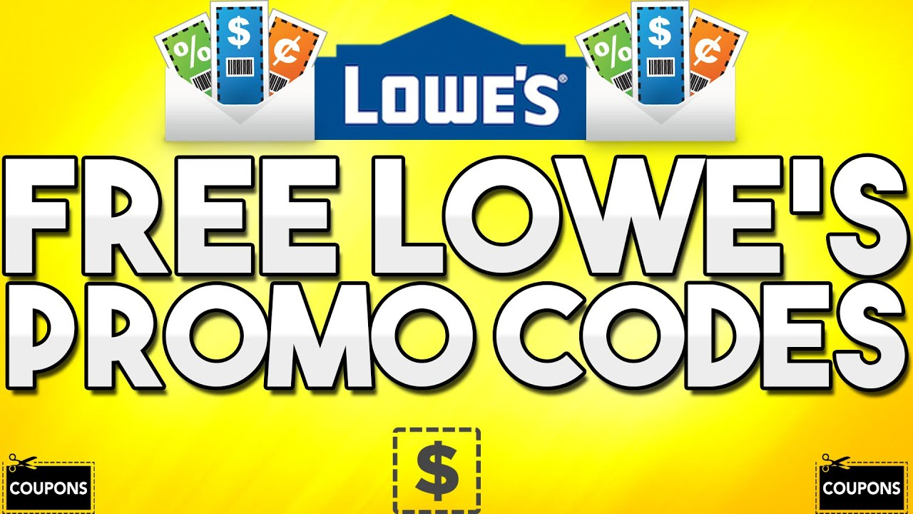 Free Lowe's Promo Codes! (Generator) - Youtube - Free Printable Lowes Coupon 2014