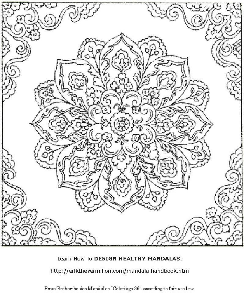 Free Mandala Coloring Book Printable Pages | Coloring-Mandalas - Free Printable Mandalas