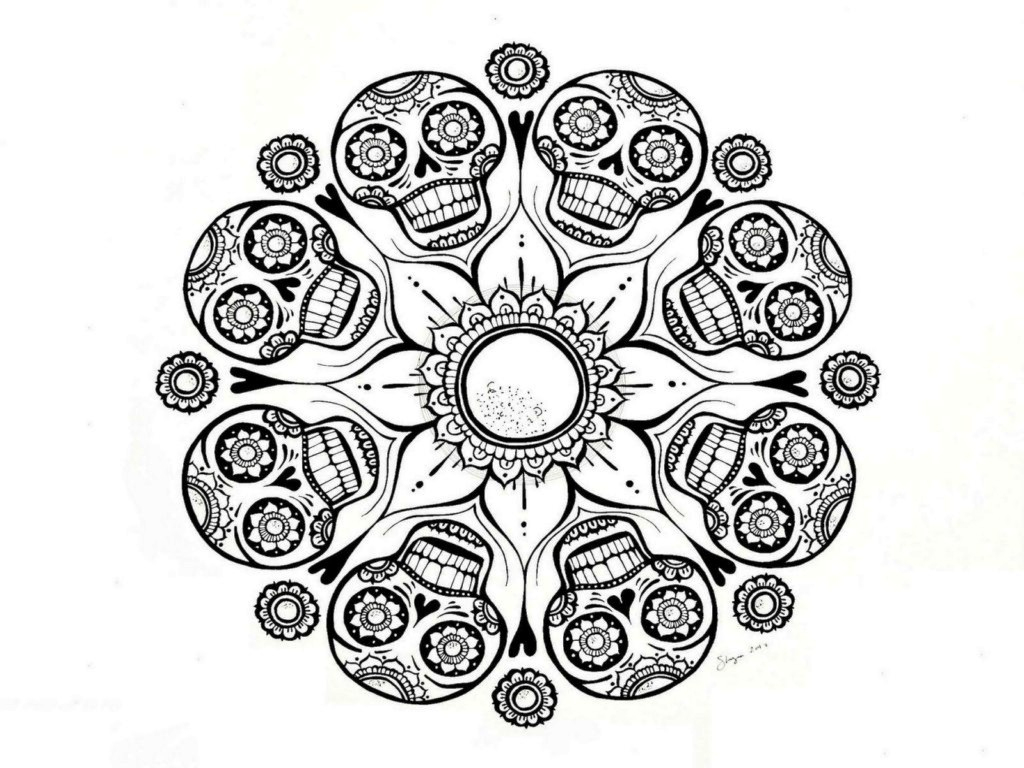 Free Mandala Coloring Pages To Print Printable Adults Colouring - Free Printable Mandala Coloring Pages