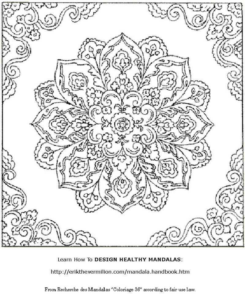 Free Mandalas To Print | Free Mandala Coloring Book Printable Pages - Free Printable Mandala Coloring Pages For Adults