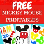 Free Mickey Mouse Printables And Party Ideas. Diy Decorations For   Free Printable Mickey Mouse Decorations