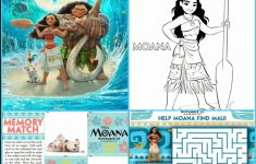 Free Moana Printables – Coloring Pages, Party Printables, And More – Free Printable Moana Banner