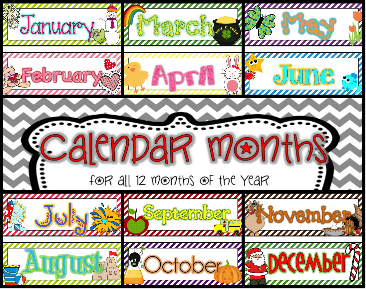 Free Month Calendar Cliparts, Download Free Clip Art, Free Clip Art - Free Printable Clipart For August