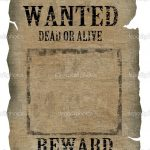 Free Old Western Wanted Posters | Vintage Wanted Poster | Stock   Wanted Poster Printable Free