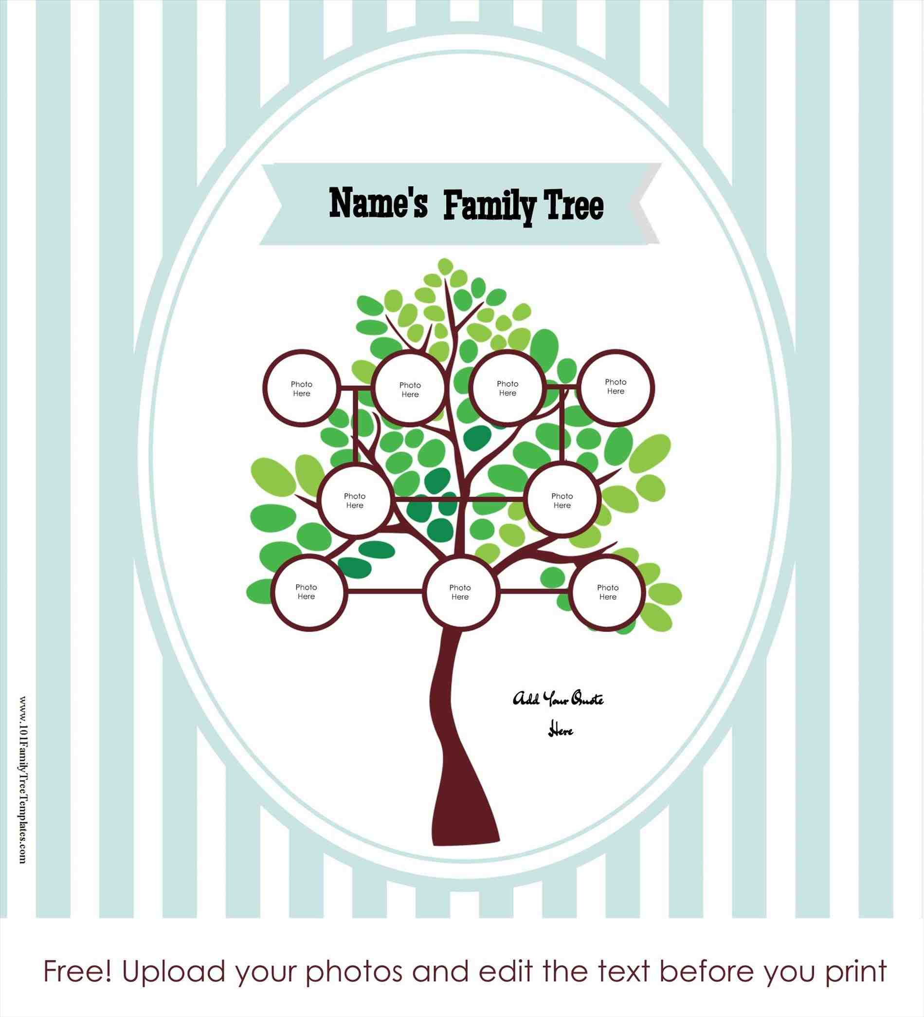 Free-Online-Family-Tree-Template-Tree-Maker-Templates - Family Tree Maker Free Printable