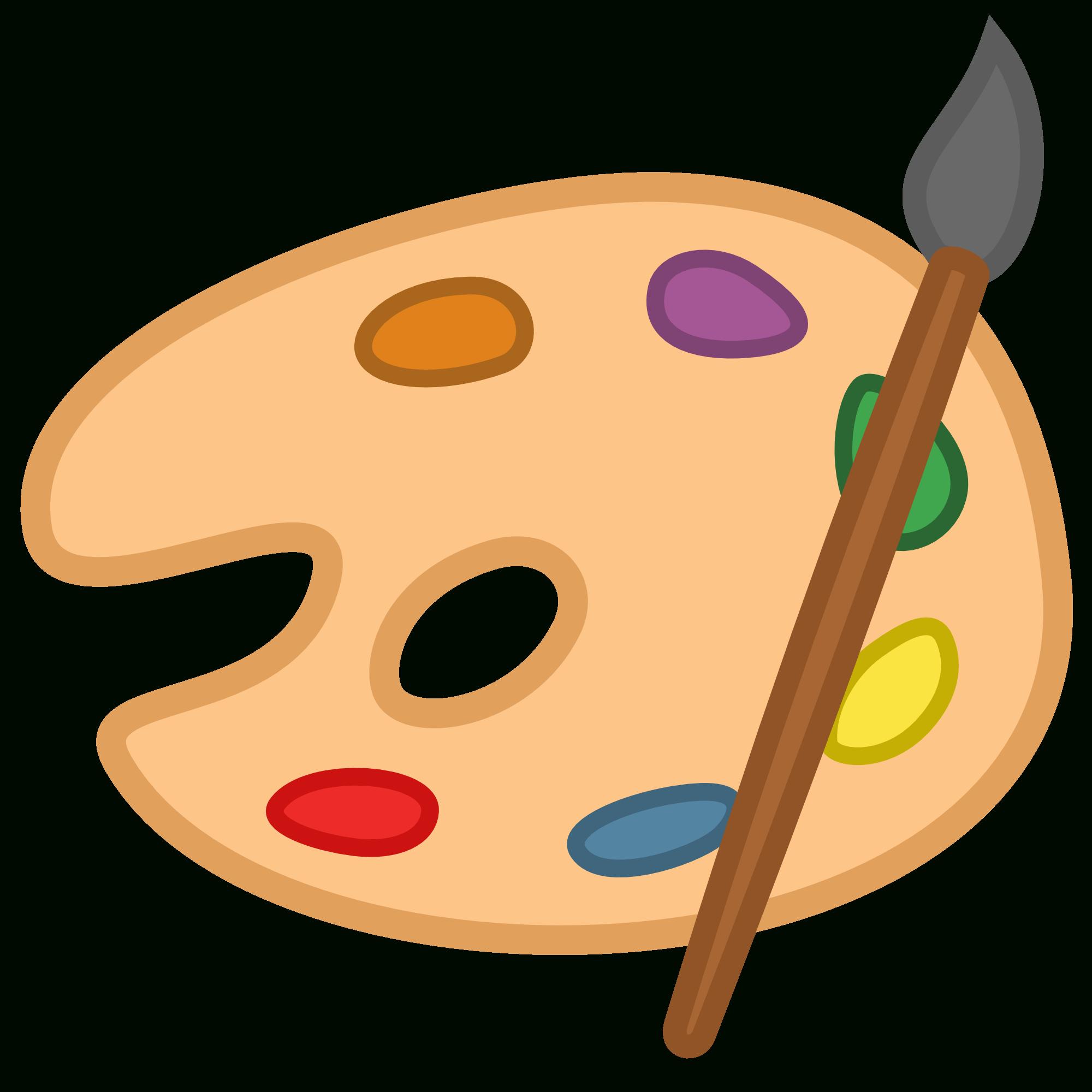 Free Paint Palette Clipart, Download Free Clip Art, Free Clip Art On - Free Printable Paint Palette