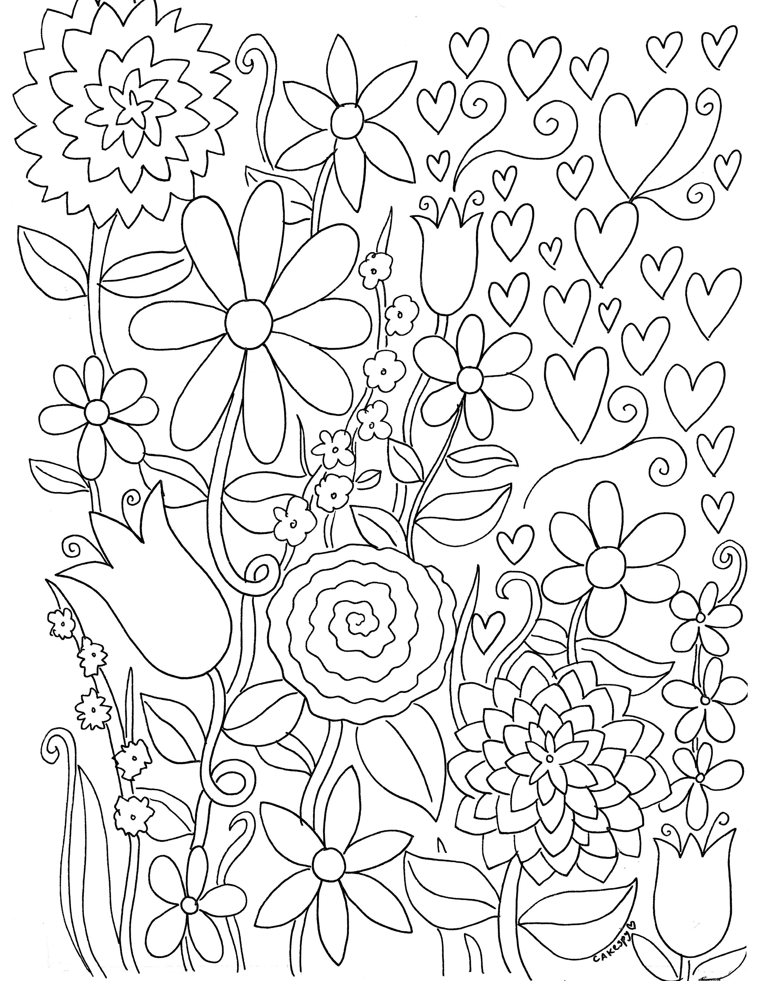 Free Paintnumbers For Adults Downloadable   *printable Art - Free Printable Coloring Book Pages For Adults