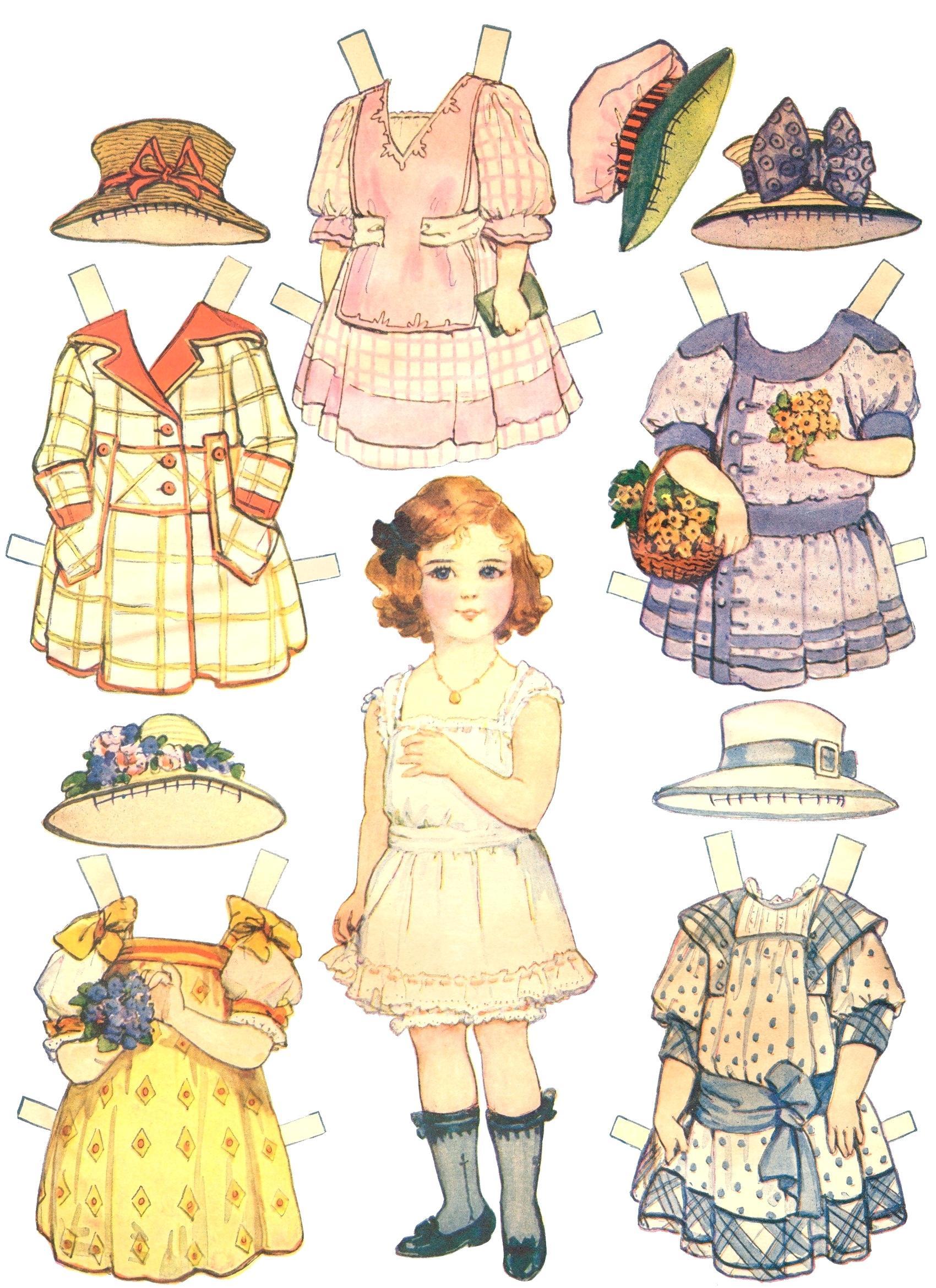 Free Paper Dolls Fairy Tale Paper Doll Printable Free Paper Dolls - Free Printable Paper Dolls