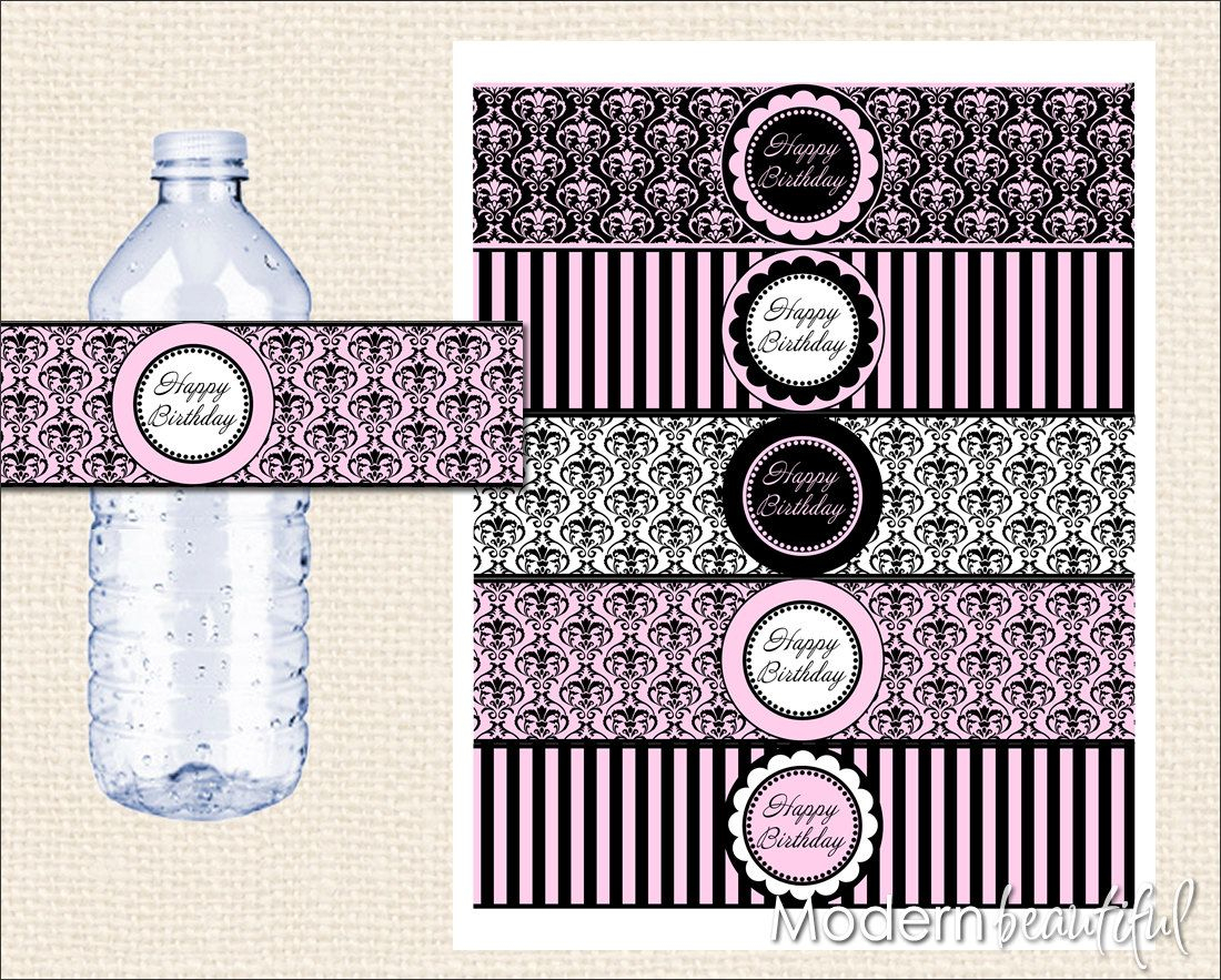 Free Paris Printables   Can't You Just Hear The Accordion Music And - Free Printable Paris Water Bottle Labels