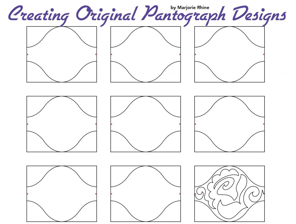 Free Pattern: Pantograph Designs - Aqs Blog - Free Printable Pantograph Patterns