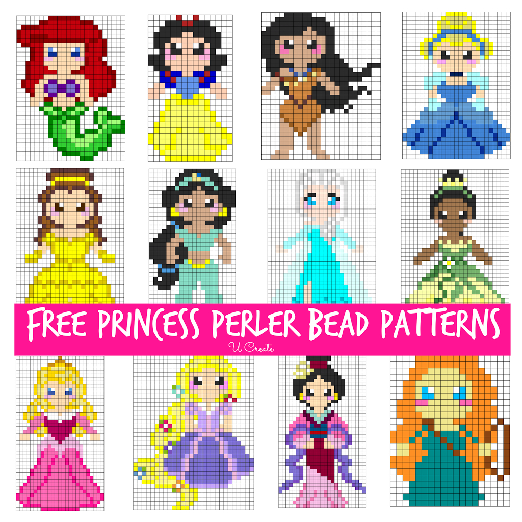 Free Perler Bead Patterns For Kids | Stitch All Your Feelings Out - Pony Bead Patterns Free Printable