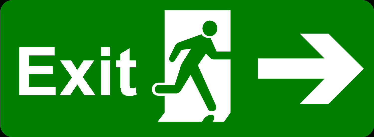 Free Pictures Of Exit Signs, Download Free Clip Art, Free Clip Art - Free Printable Exit Signs