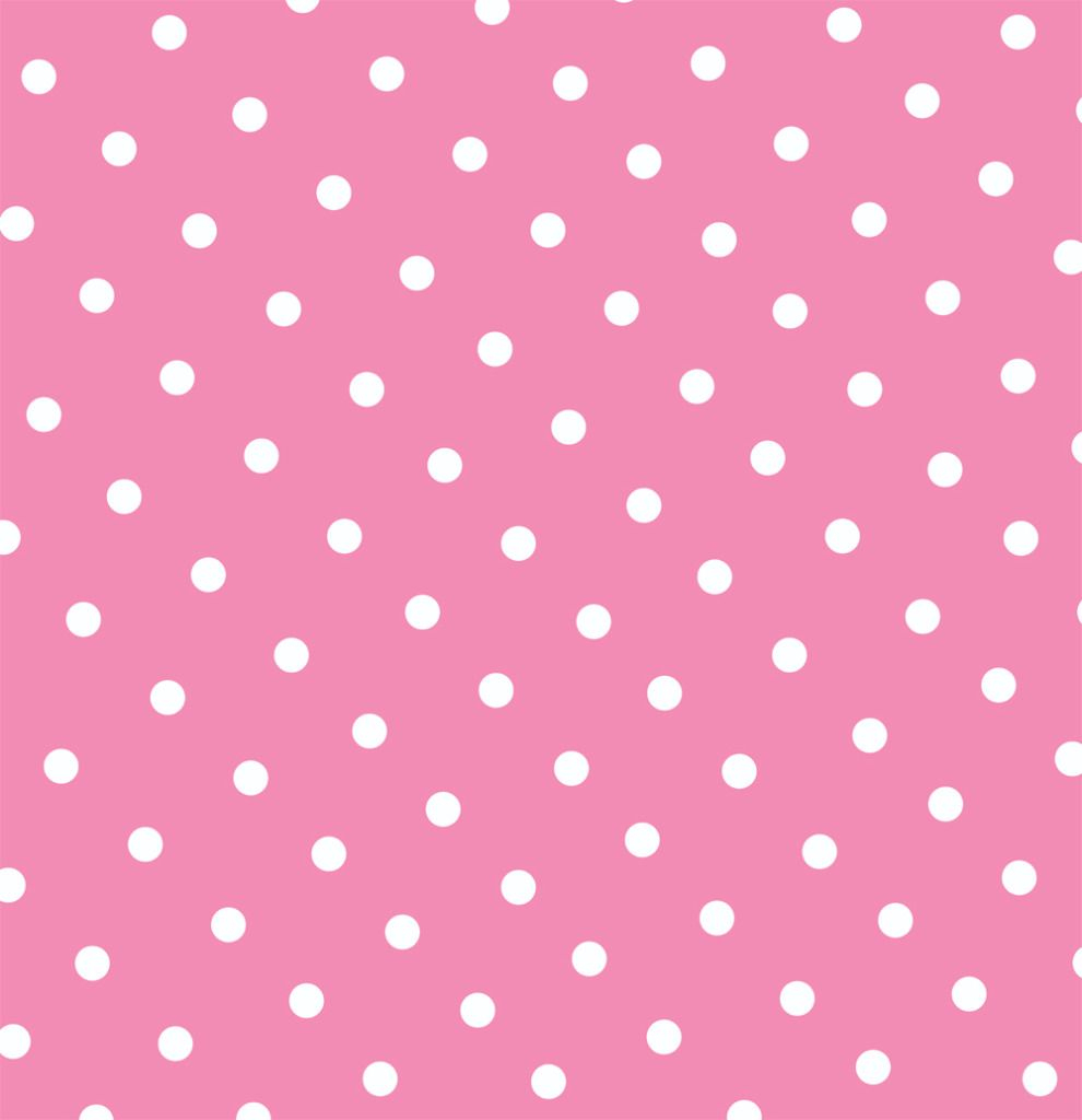 Free Pink Polka Dot Printable Page Or Digital Background. | Dsn - Free Printable Pink Polka Dot Paper