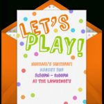 Free Playdate Online Invitations | Punchbowl Intended For Free   Play Date Invitations Free Printable