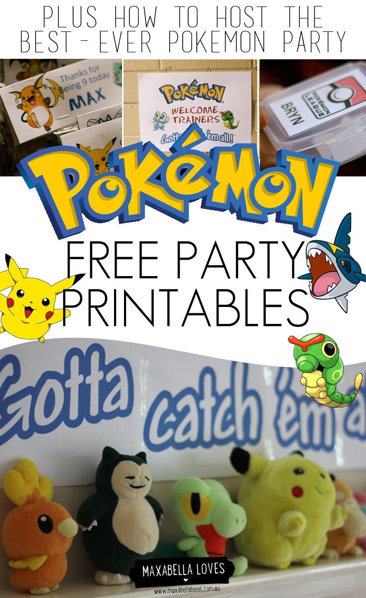 Free Pokemon Printables 3 #15941 - Pokemon Binder Cover Printable Free