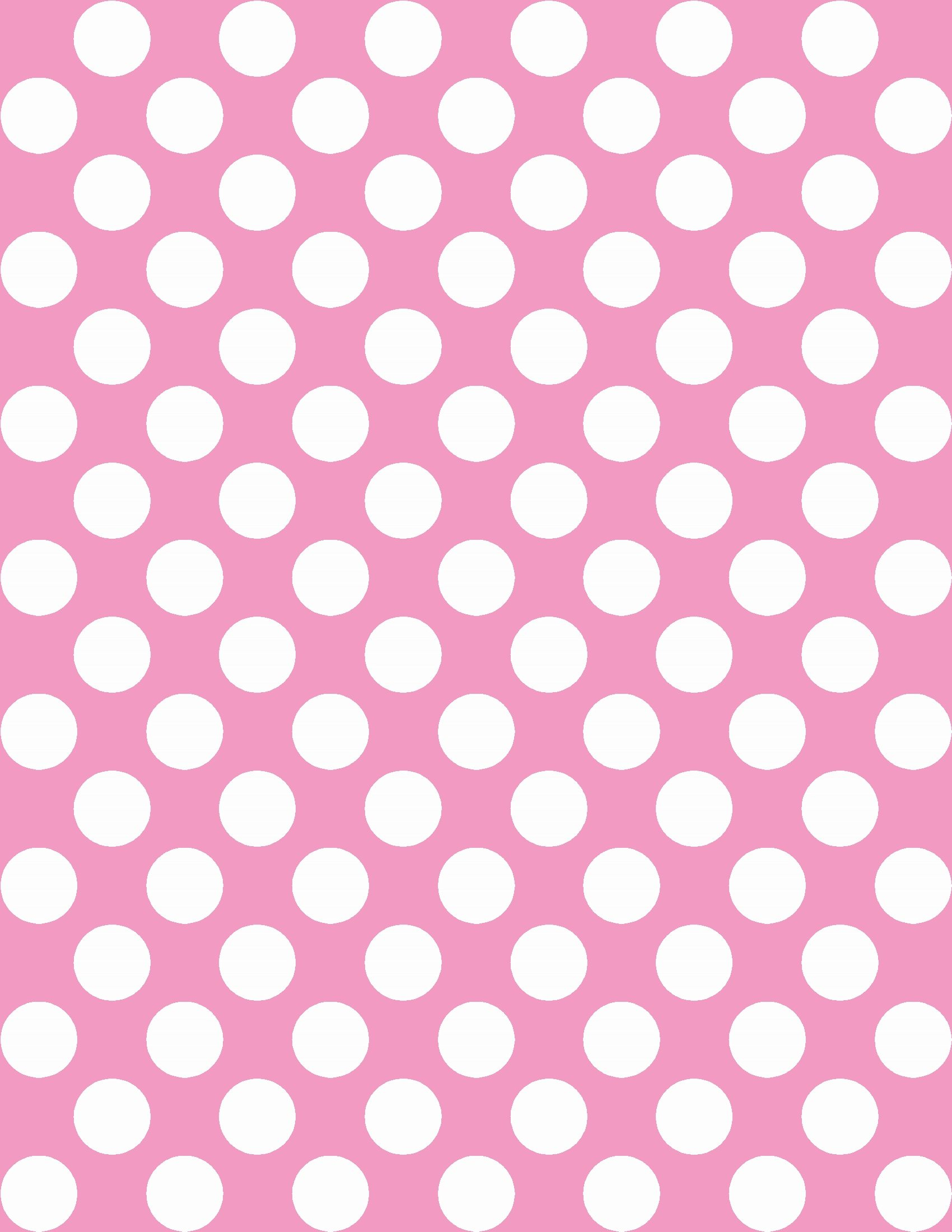 Free Polka Dot Background In Any Color | Instant Download - Free Printable Pink Polka Dot Paper