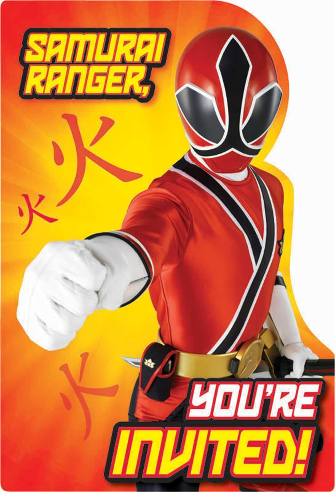 Free Power Ranger Birthday Invitations   Bagvania Invitation - Free Printable Power Ranger Birthday Invitations