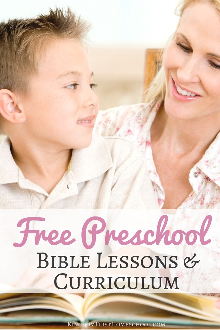 Free Preschool Bible Lessons And Curriculum - Bible Lessons For Toddlers Free Printable