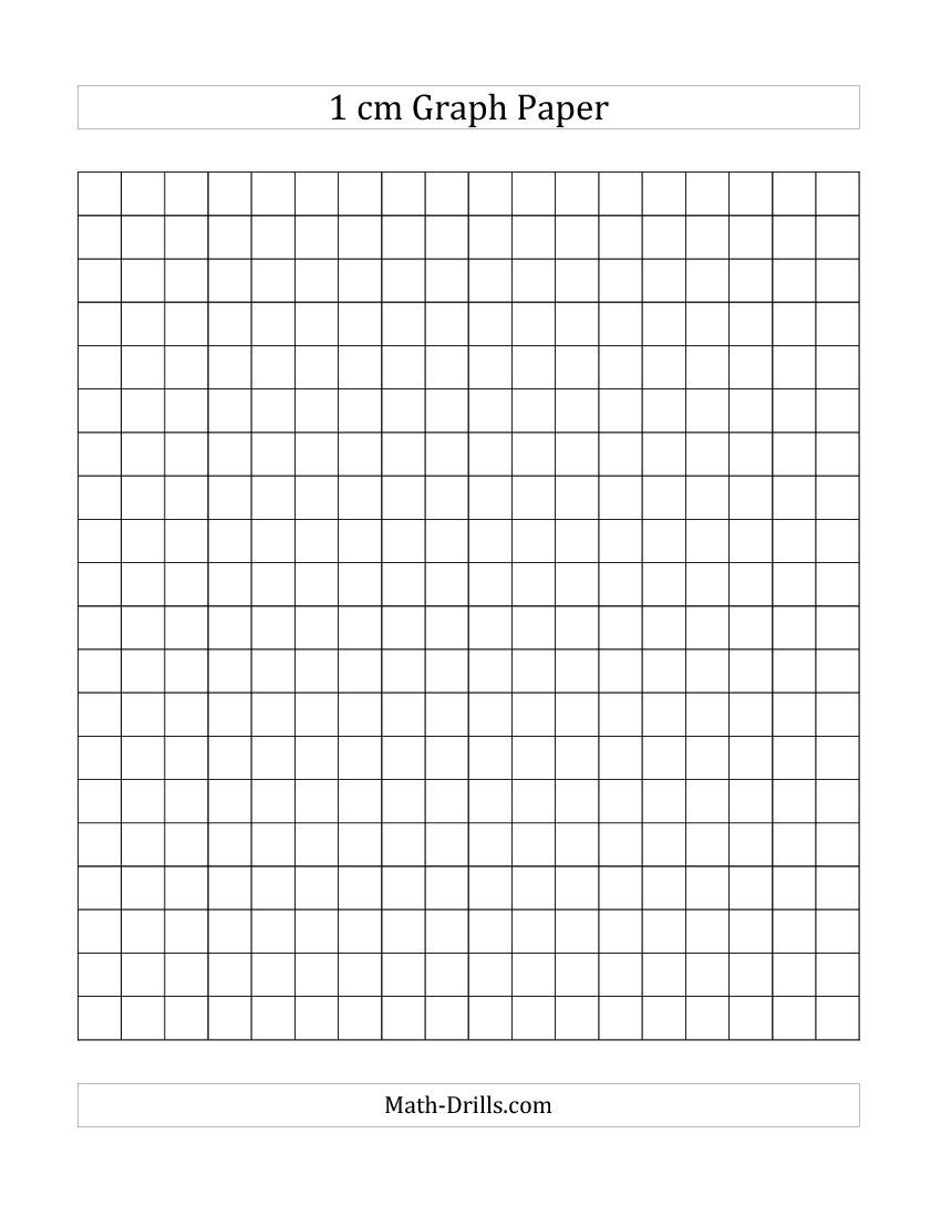 Free Printable 1 Cm Graph Paper (A) | Back To School | Pinterest - Half Inch Grid Paper Free Printable