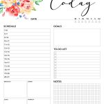 Free Printable 2019 Planner 50 Plus Printable Pages!!!   The Cottage   Free Printable Diary Pages