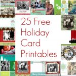 Free Printable 4×6 Christmas Photo Cards – Festival Collections   Free Printable Photo Cards 4X6