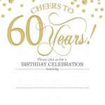 Free Printable 60Th Birthday | Kellies 50Th Bday Ideas | 60Th   Free Printable Surprise 60Th Birthday Invitations