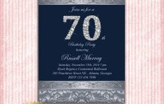 Free Printable 70Th Birthday Party Invitations