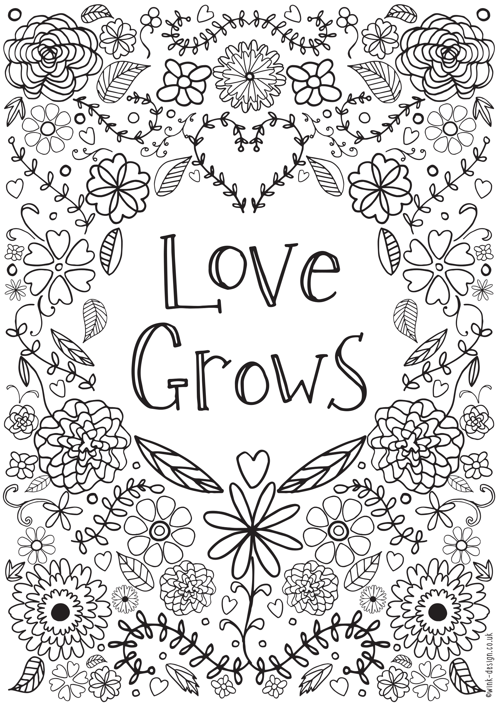 Free Printable Adult Colouring Pages - Inspirational Quotes For The - Free Printable Quote Coloring Pages For Adults