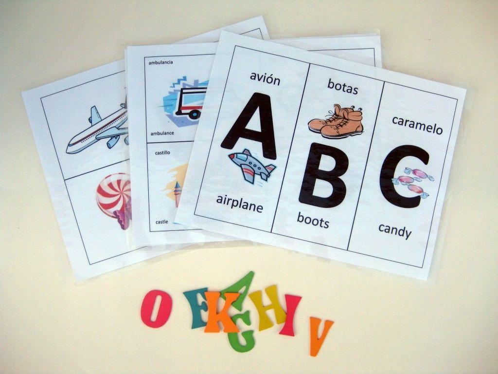 Free Printable Alphabet Flashcards In Spanish | Kiddos | Spanish - Spanish Alphabet Flashcards Free Printable