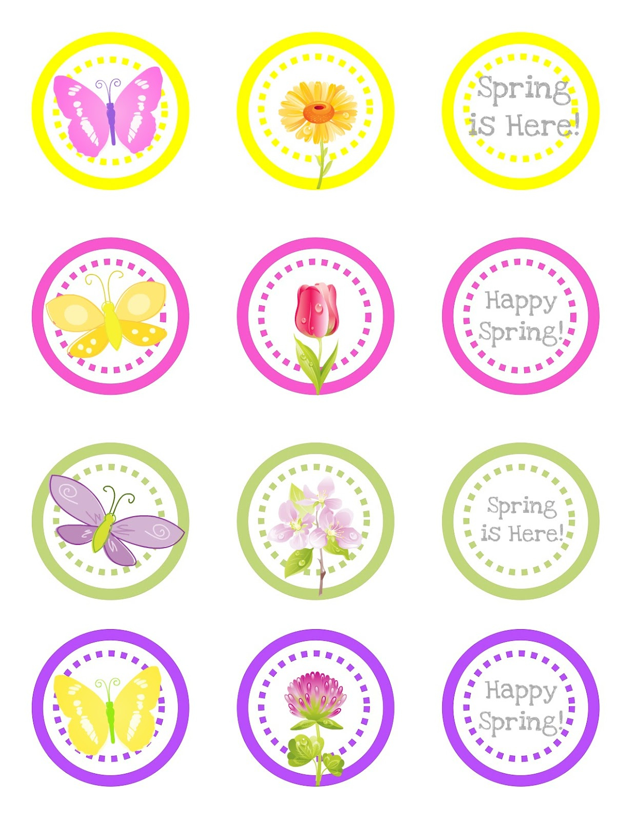 Free Printable} April Showers Bring May Flowers Printable - Creative - Free Printable Flowers