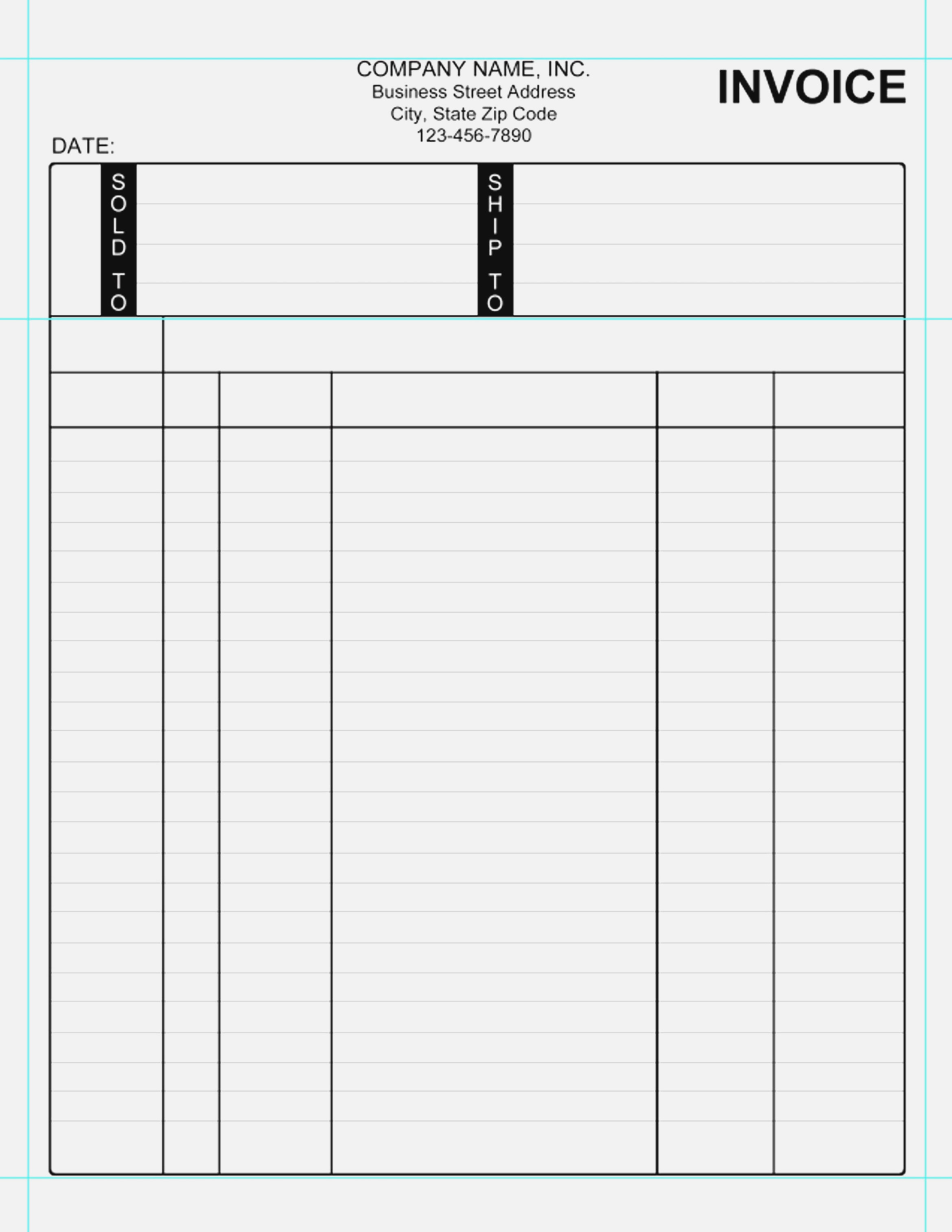 Free Printable Auto Repair Invoice Template Truck Repair Invoice - Free Printable Auto Repair Invoice Template