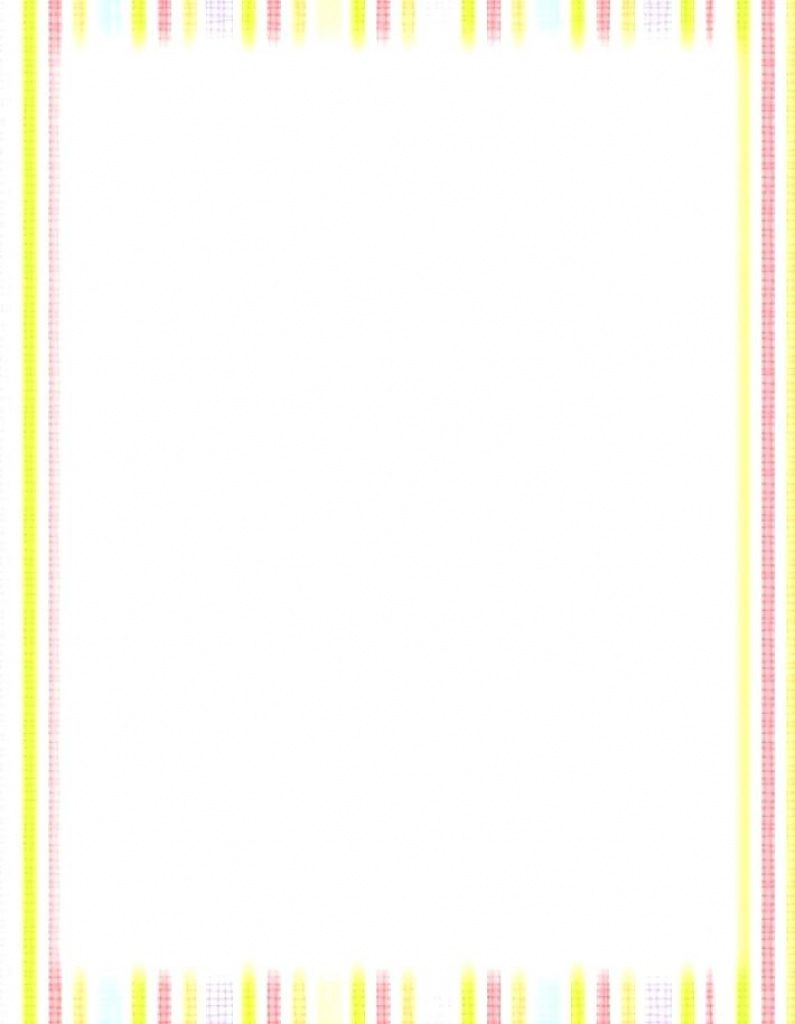 Free Printable Baby Borders For Paper | Free Printable - Free Printable Baby Borders For Paper
