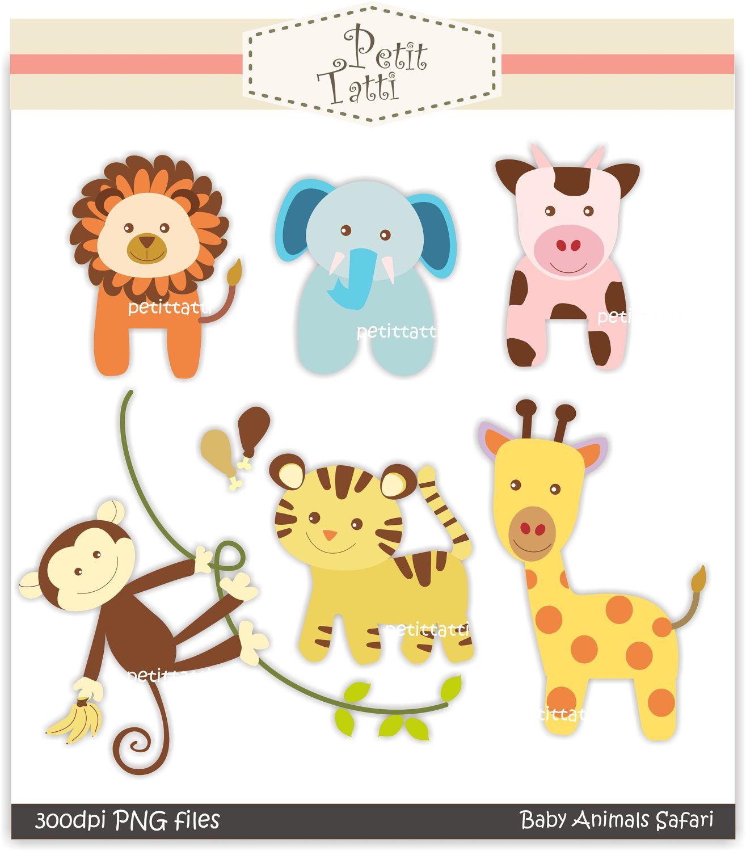 Free Printable Baby Clip Art    Clip Art., Baby Animal Safari - Free Printable Pictures Of Baby Animals