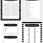 Free Printable Baby Shower Games   5 Games (In 3 Colors!) | Lil' Luna   Free Printable Templates For Baby Shower Games
