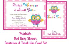 Free Printable Baby Shower Invitations For Girl – Baby Ideas | Baby – Free Printable Baby Shower Cards Templates