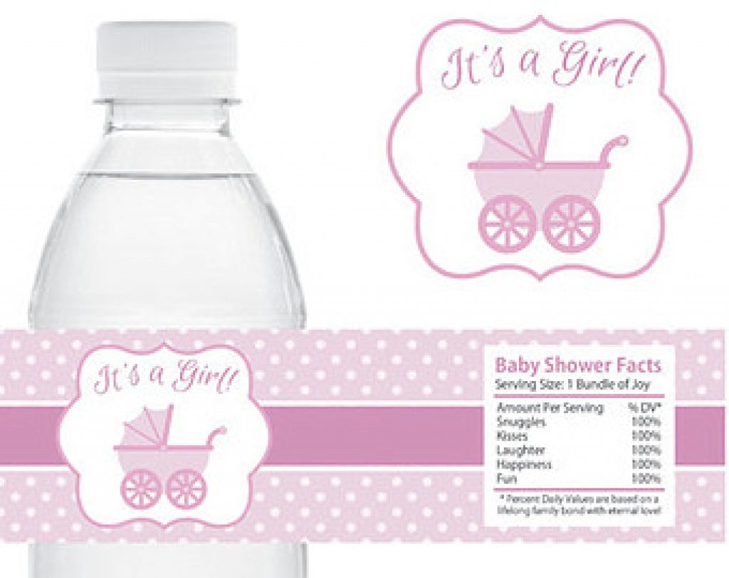 Free Printable Baby Shower Labels For Bottled Water   Free Printable - Free Printable Baby Shower Labels For Bottled Water