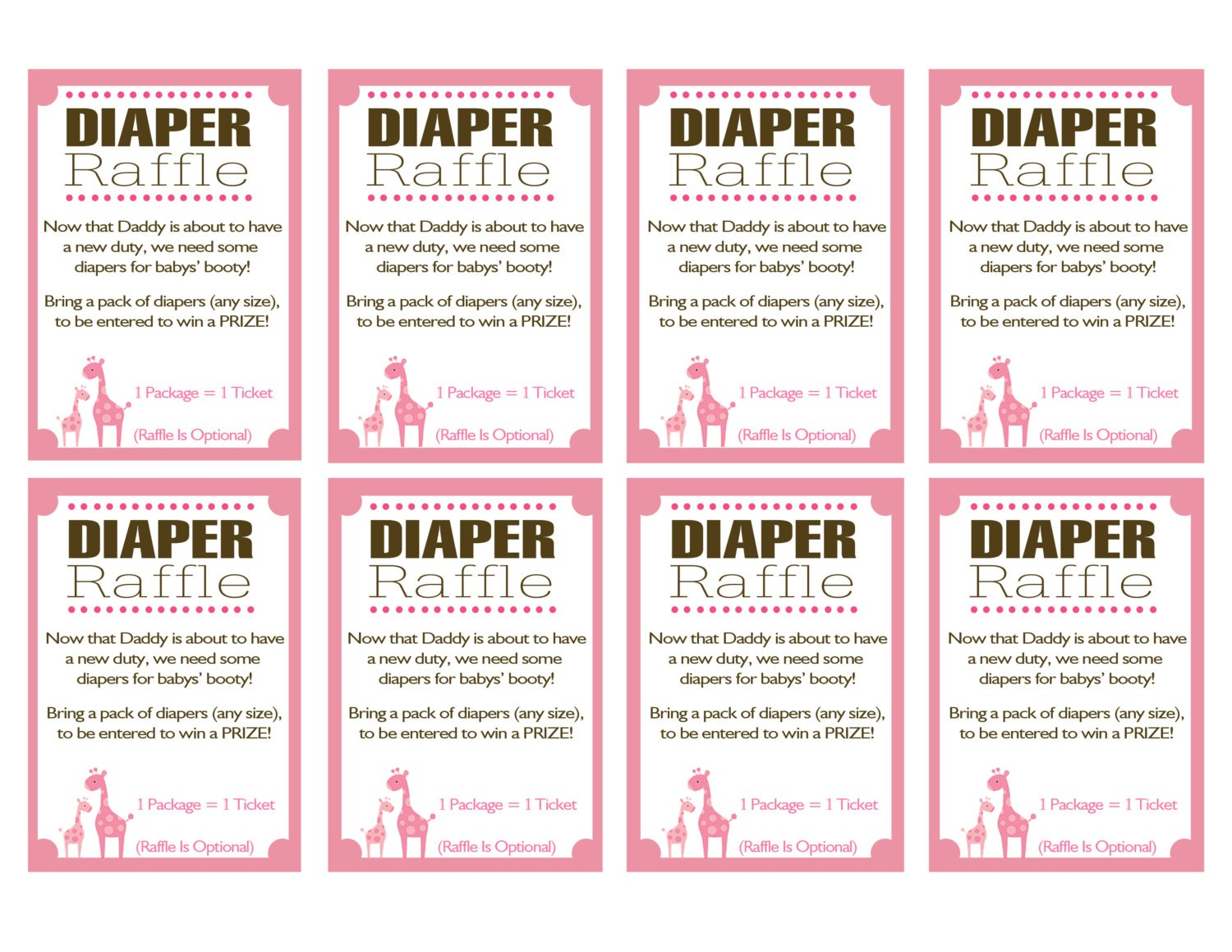 Free Printable Baby Shower Raffle Tickets Template Home Design Ideas - Free Printable Diaper Raffle Tickets