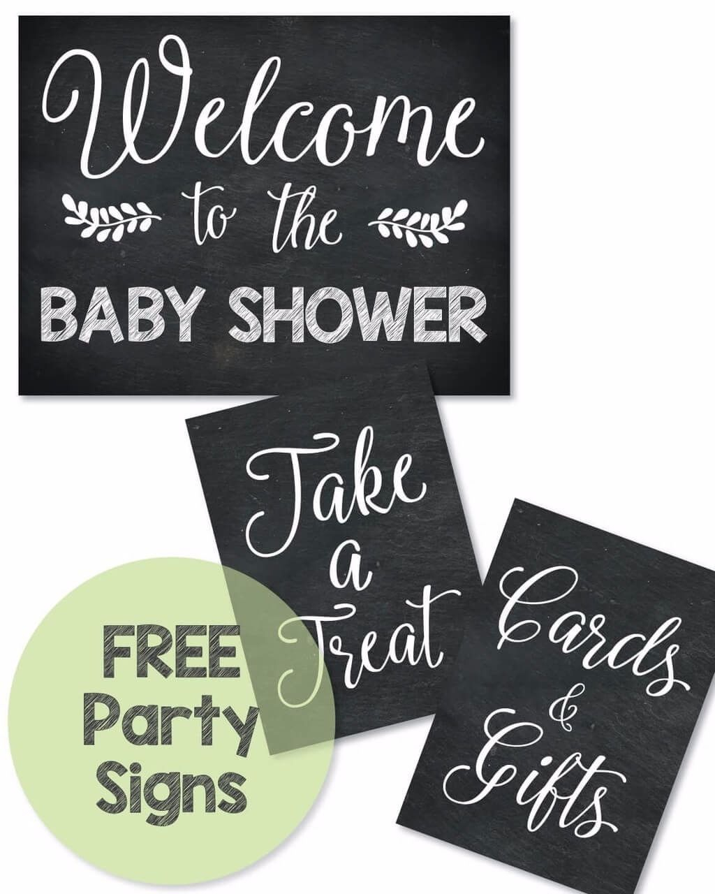 Free Printable Baby Shower Signs - Print It Baby   Baby Shower - Free Printable Baby Shower Table Signs
