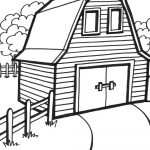 Free Printable Barn Coloring Pages   High Quality Coloring Pages   Free Printable Barn Coloring Pages