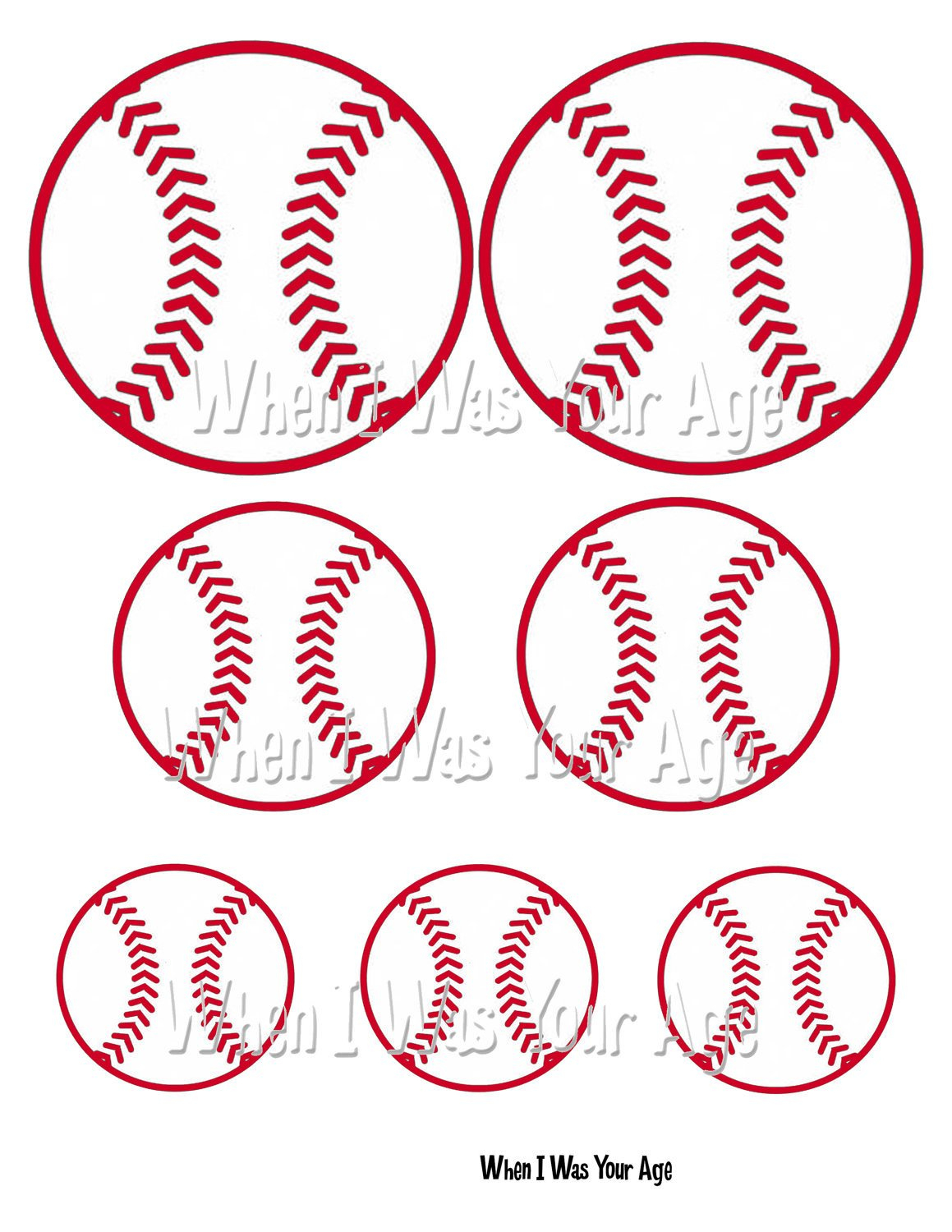 Free Printable Baseball Favor Tag - Free Printable Baseball Favor Tags