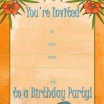 Free Printable Beach Party, Luau And Bbq Invitations Templates   Free Printable Beach Pictures