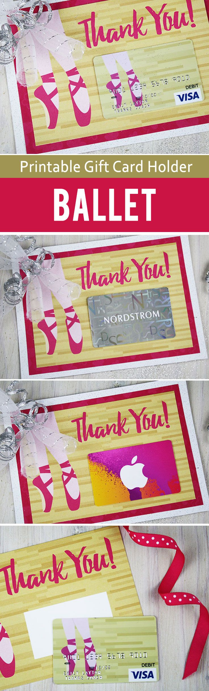 """Free Printable} Best Gift For Ballet Teacher…""""barre"""" None 