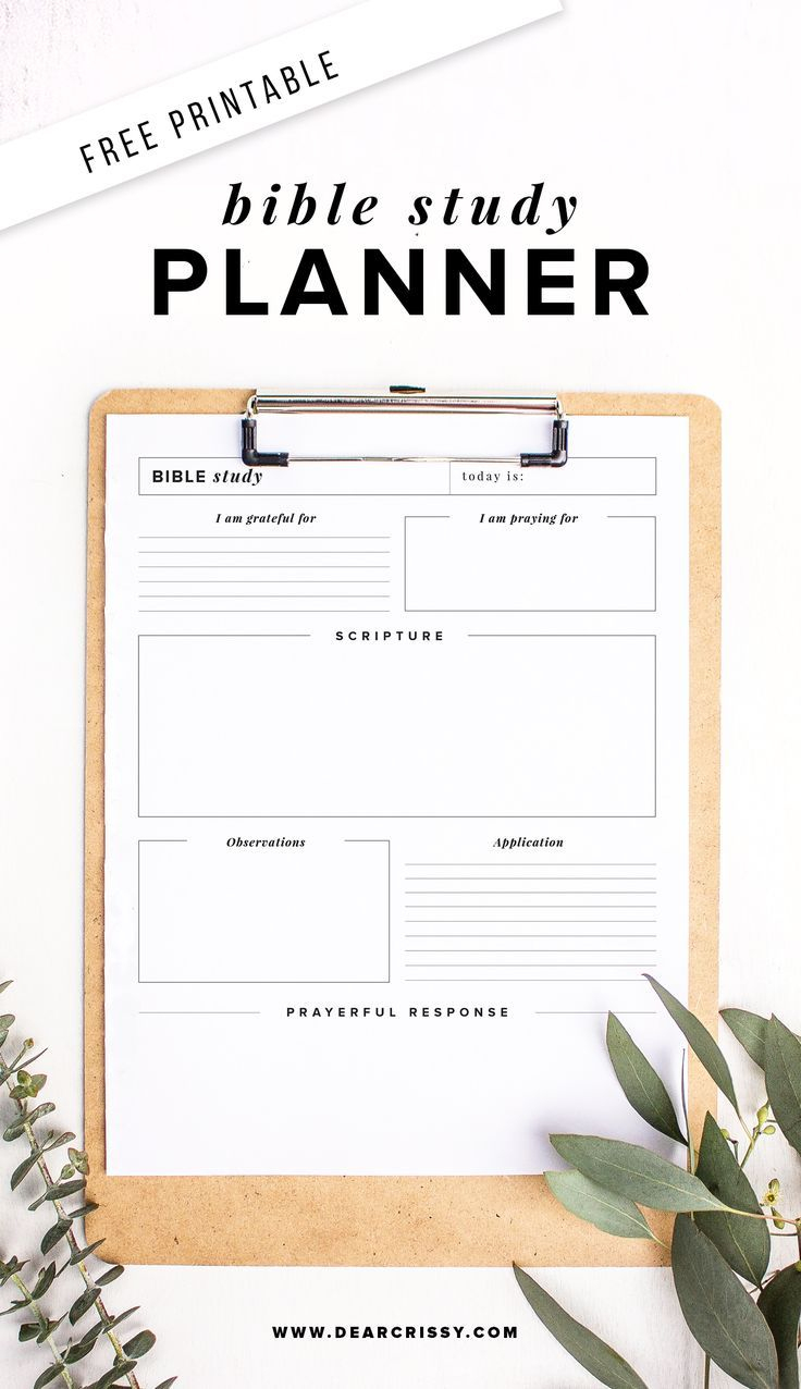Free Printable Bible Study Planner - Soap Method Bible Study - Free Printable Bible Studies For Women