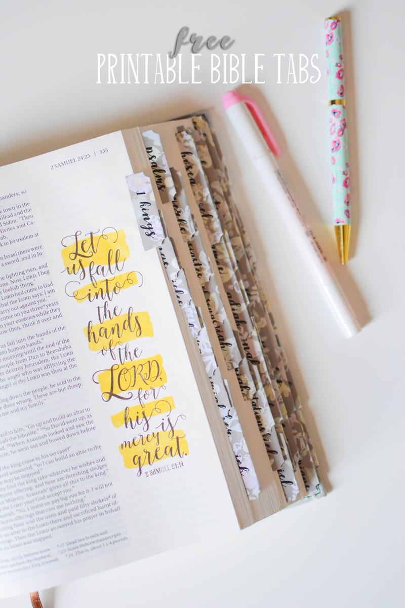 Free Printable Bible Tabs For Your Journal Bible Or Study Bible. Two - Free Printable Bible Studies For Men