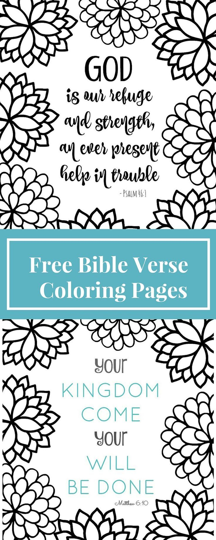 Free Printable Bible Verse Coloring Pages With Bursting Blossoms - Free Printable Bible Coloring Pages With Verses