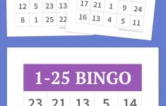 Free Printable Bingo Games